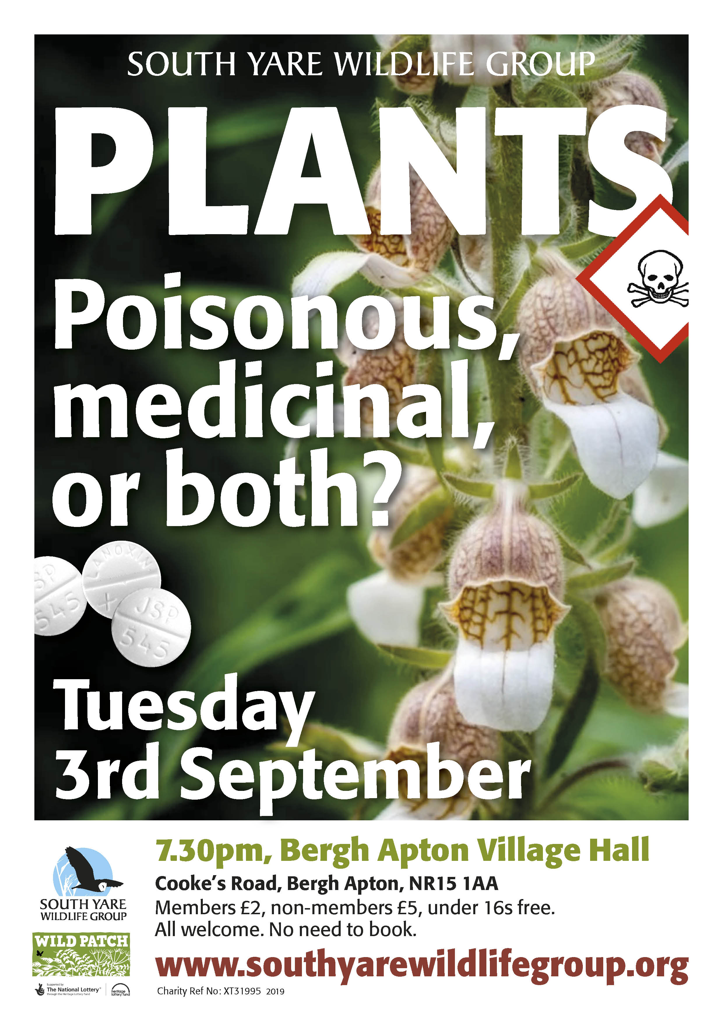 Plants: Poisonous, medicinal or both? | South Yare Wildlife